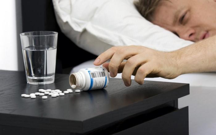 употребление таблеток